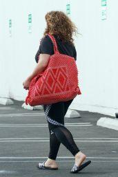 Justina Machado - Leaving the DWTS Studio in Los Angeles 11/07/2020