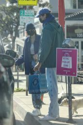 Kaia Gerber and Jacob Elordi - Out in West Hollywood 11/13/2020