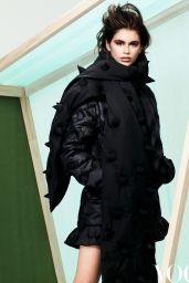 Kaia Gerber - Vogue China December 2020