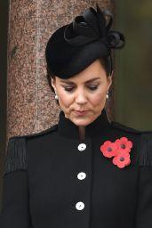 Kate Middleton - Remembrance Sunday Service at The Cenotaph, London 11/08/2020