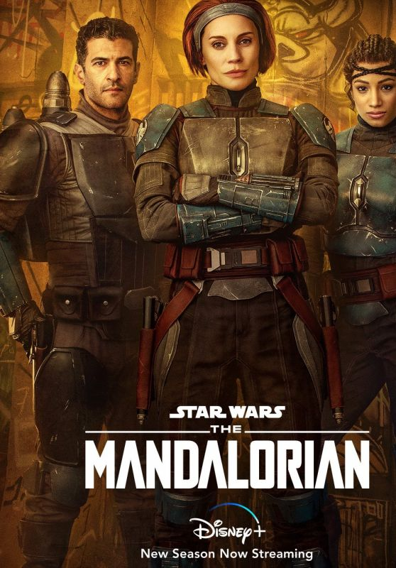 "Katee Sackhoff - ""The Mandalorian"" Season 2 Poster"