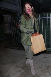 Katharine McPhee Night Out - Giorgio Baldi Restaurant in Santa Monica 11/20/2020