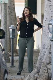 Katharine McPhee - Outside a Hair Salon in LA 11/21/2020