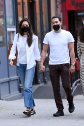 Katie Holmes and Emilio Vitolo - Out in New York 11/21/2020