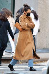 Katie Holmes Autumn Street Style - New York 11/14/2020
