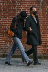 Katie Holmes With Emilio Vitolo Jr. 11/25/2020