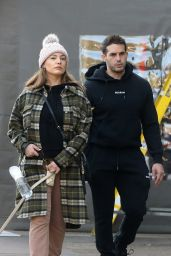 Kelly Brook and Jeremy Parisi - Out in Hampstead 11/07/2020