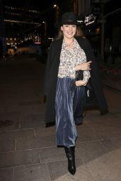 Kelly Brook Arriving at the Global Radio Studios in London 11/24/2020