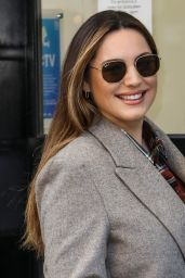 Kelly Brook - Arriving at the Global Radio Studios in London 11/26/2020