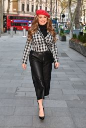 Kelly Brook at Heart Radio On Her Birthday in London 11/23/2020