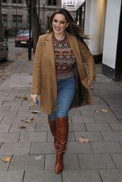 Kelly Brook Street Style - London 11/17/2020