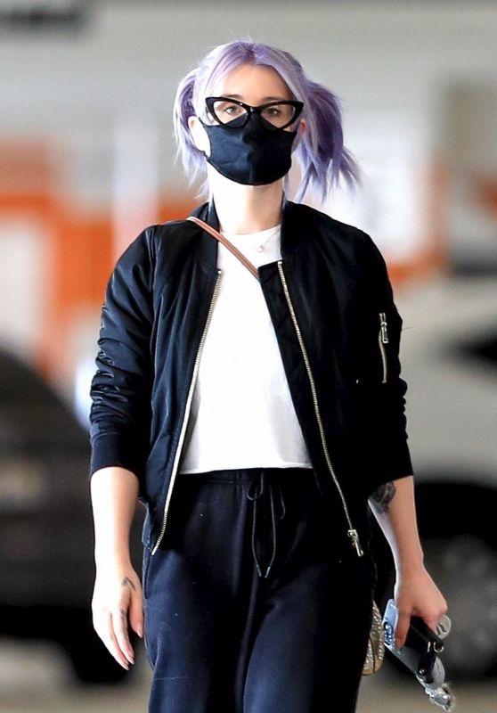 Kelly Osbourne - Xmas Shopping at the Beverly Connection in Beverly Hills 11/13/2020