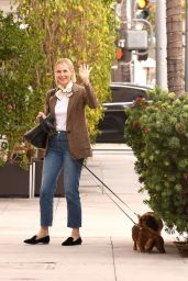 Kelly Rutherford at E Baldi Restaurant in Beverly Hills 11/05/2020