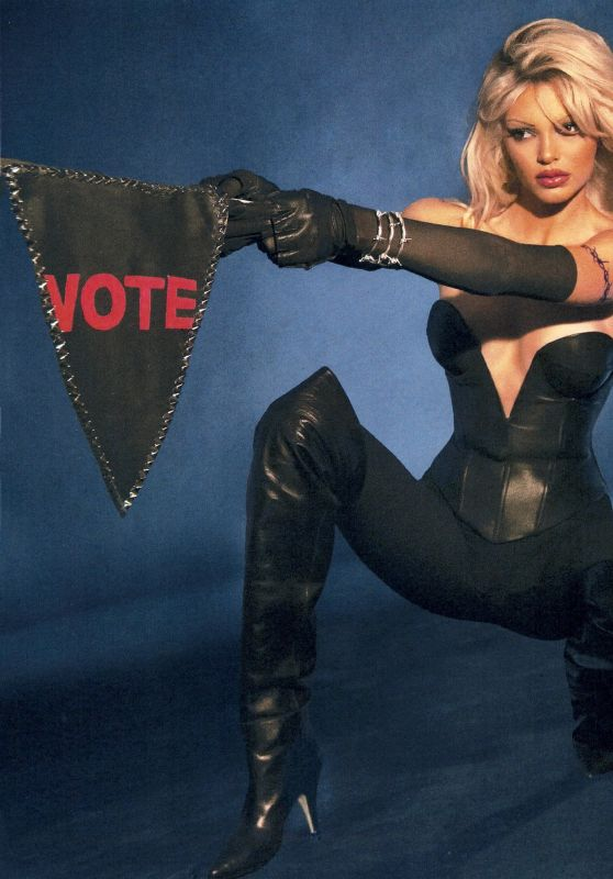 Kendall Jenner - Vote Campaign Inspired From Barbed Wire 2020