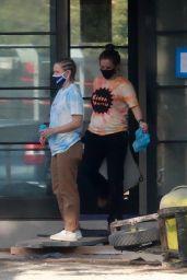 Kristen Bell Wearing a Vote T-Shirt in Los Feliz 11/03/2020
