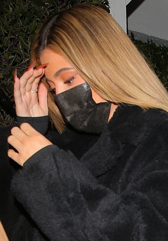 Kylie Jenner - Leaving Giorgio Baldi in Santa Monica 11/13/2020