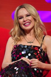 Kylie Minogue - Filming for the Graham Norton Show at BBC in London 11/05/2020