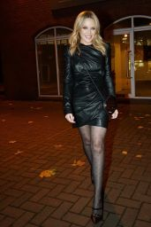 Kylie Minogue Night Out Style - London 11/13/2020