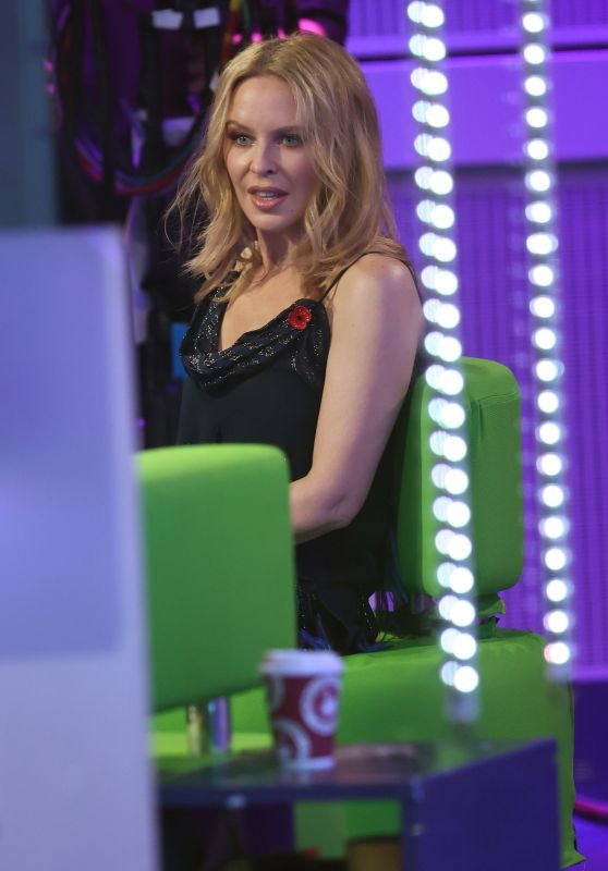 Kylie Minogue - Promotes hHr New Album on The One Show in London 11/10/2020