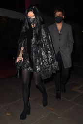 Laura Whitmore in a Halloween Costume - London 10/31/2020