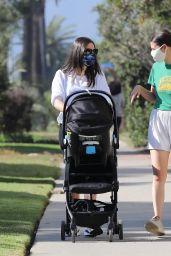 Lea Michele With Her Husband - Santa Monica 11/02/2020