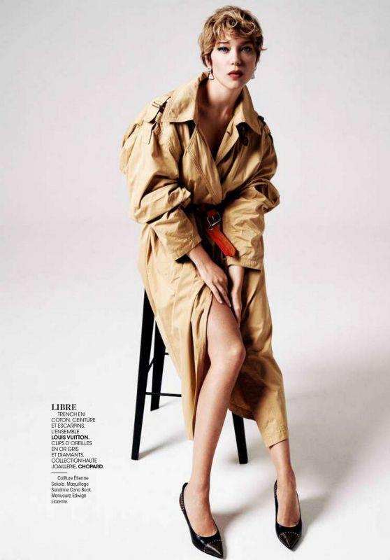 Léa Seydoux - Madame Figaro 11/13/2020 Issue