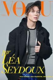 Léa Seydoux -Vogue Paris December 2020/January 2021