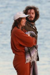Leighton Meester and Adam Brody - Malibu 11/25/2020