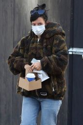 Lily Allen in Casual Outfit - New York 11/02/2020