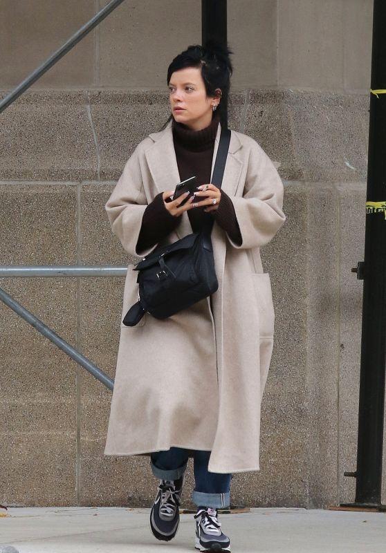 Lily Allen - Out in Manhattan