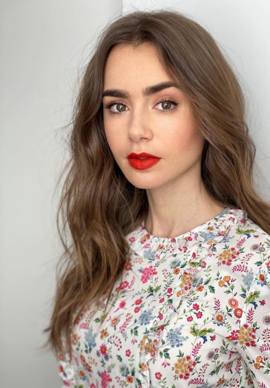Lily Collins 11/18/2020