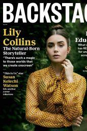 Lily Collins - Backstage November 2020