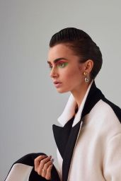 Lily Collins - Birdie Fall/Winter 2020