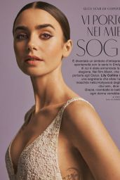 Lily Collins - Grazia Magazine December 2020 Issue