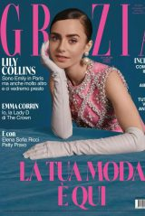 Lily Collins - Grazia Magazine December 2020 Issue