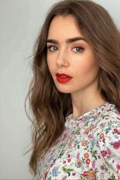 "Lily Collins - ""Mank"" Press Day Promoshoot November 2020"