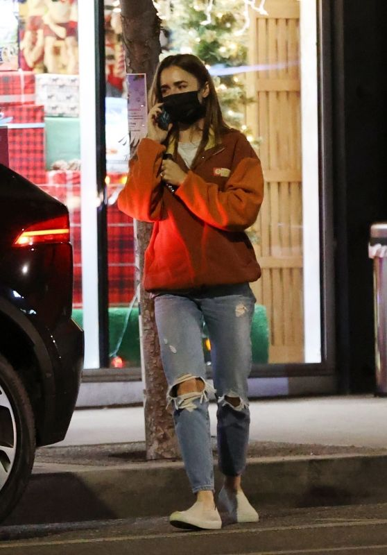 Lily Collins - Out in West Hollywood 11/28/2020
