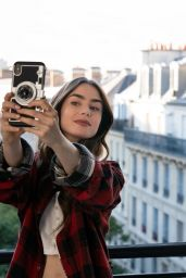 Lily Collins - Vogue UK November 2020