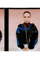 Lily James - Photoshoot for The Laterals November 2020