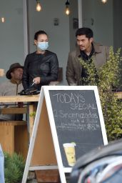 Liv Lo Golding and Henry Golding - Out in Los Angeles 11/07/2020