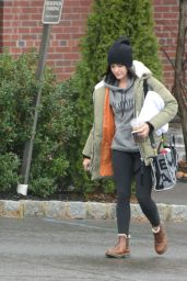 Lucy Hale - Out For a Hike in New York 11/26/2020