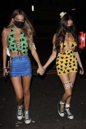 Madison Beer - Out for Halloween in West Hollywood 10/31/2020
