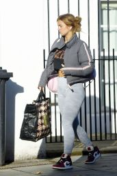 Maisie Smith - Strictly Come Dancing Practice in London 11/12/2020