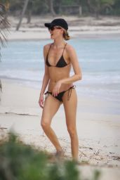 Martha Hunt in a Bikini - Beach in Tulum 11/07/2020