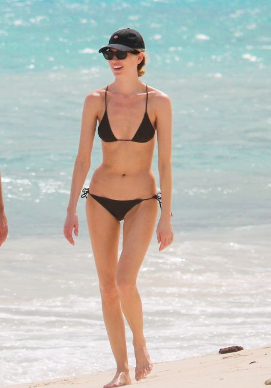 Martha Hunt in a Bikini - Beach in Tulum 11/07/2020