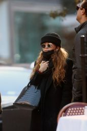 Mary-Kate Olsen - Out in New York 11/16/2020