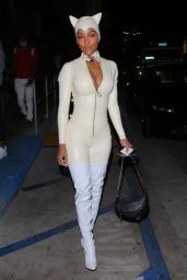 Meagan Good - Halloween party in West Hollywood - 10/31/2020