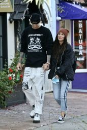 Megan Fox in a Padded Jacket and Slim Jeans - Studio City 11/06/2020