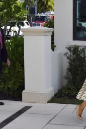 Melania Trump - Morton and Barbara Mandel Recreation Center Polling Place in Palm Beach 11/03/2020