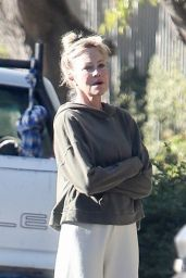 Melanie Griffith - Outside Her Home in LA 11/13/2020